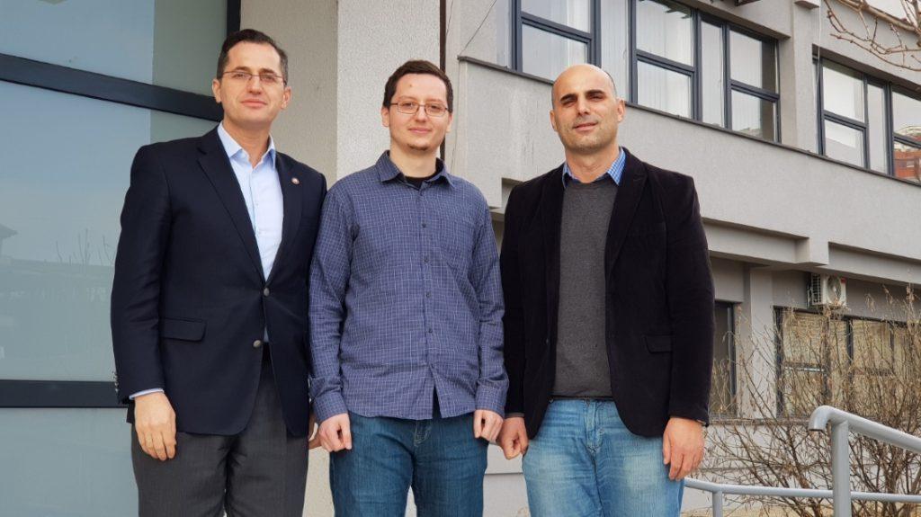 From left to right: Blerim Rexha, Edon Gashi & Kadri Sylejmani